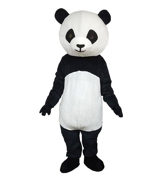 e40fbcbffd9 Plush Panda Mascot Costume Adult Size Cartoon Halloween Party Dress Suit   Amazon.ca  Clothing   Accessories
