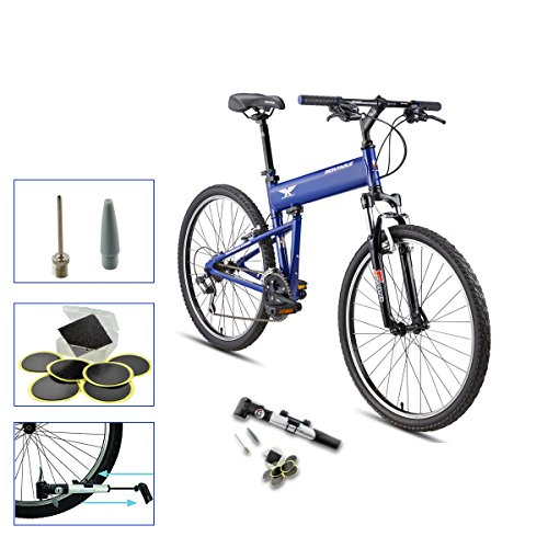Montague Folding Bike (Montague Paratrooper Express Folding Bike, Air Force Blue (18