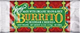 Amy's Bean Rice & Cheese Burrito, Organic, 6-Ounce Boxes (Pack of 12)