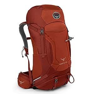 Osprey Packs Kestrel 38 Backpack, Dragon Red, Small/Medium