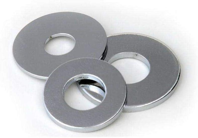 Junta de hierro galvanizado, arandela plana de metal-Rosa M10 * 30 * 3: 1 kg