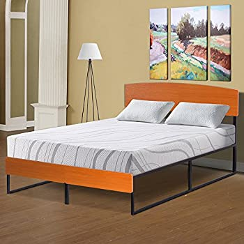 Amazon Com Primasleep Wood Platform Bed With Headboard
