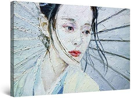 Startonight Canvas Wall Art Decor Japanese Woman Print