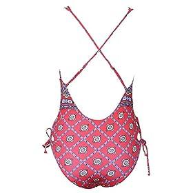 - 51hfQZTqqLL - CUPSHE Women's Printing One Piece Bikini Swimsuit Beach Swimwear