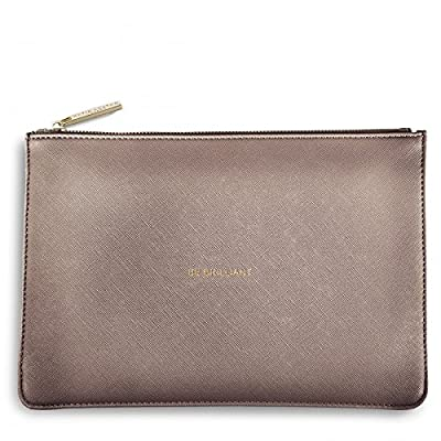 Katie Loxton - Perfect Pouch - Be Brilliant - Rose Gold