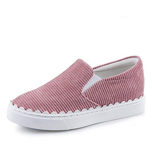 Printemps Et Automne,Rayé,Casual Shoes/Lady,Fouler,Chaussures Slip-on/Chaussures à Semelles épaissir hot sale 2017