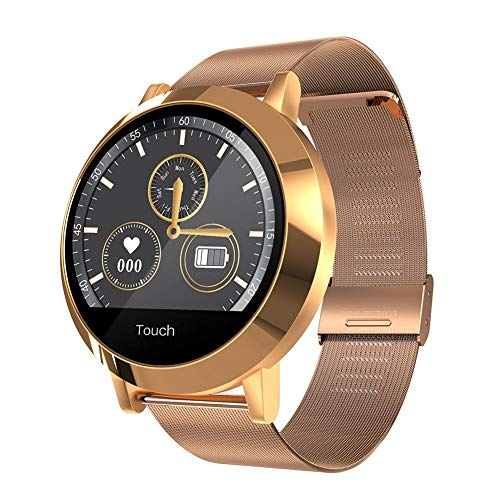 Shantan Fitness Tracker, X6A Dynamic UI Waterproof Heart Rate Monitor,1.04 inch Fitness Watch with Sleep Monitor IP68 Waterproof, Step Counter Pedometer Smart Watch for Android iOS Men Women (Pressure 001 Switch Air)