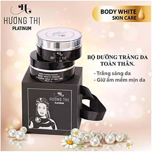 Set 2 Boxes120gram - Body White Cream Collection - BO DUONG TRANG DA TOAN THAN - HUONG THI