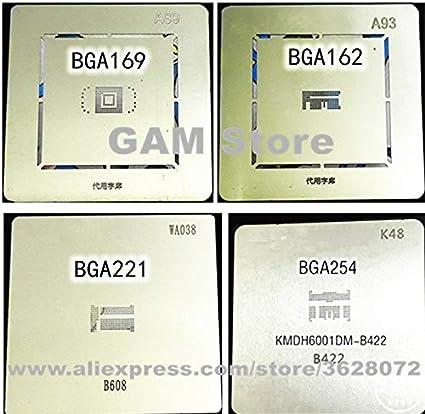 Homely BGA 169 254 162 221 BGA Stencil Reballing B608 eMMC