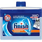 Finish Dishwasher Machine Cleaner, 8.45 fl oz Bottle, Dual Action To Fight Grease & Limescale (Pack of 6)