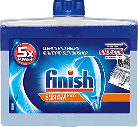 Finish Dual Action Dishwasher Cleaner: Fight Grease & Limescale, Fresh, 8.45oz - Special Build Part