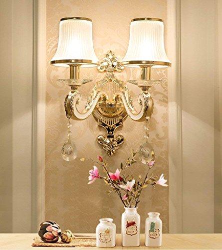 Jiaa Productos de decoración para el hogar con Aspecto Moderno y Elegante Aplique Diseño de la lámpara de Pared Dormitorio...