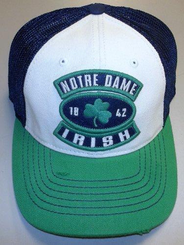 Notre Dame Fighting Irish Adidas Distressed Flex Slouch Hat