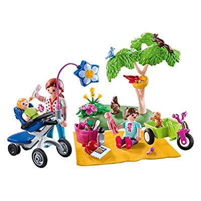 PLAYMOBIL Family Picnic Carry Case: Toys & Games