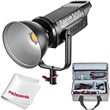 Aputure COB 300D LS C300D Daylight Balanced Led Video Light CRI95+ TLCI96+ 48000lux@0.5M Bowens Mount 2.4G Remote Control 18dB Low Noise V-Mount Plate with Canvas Bag and PERGEAR Cleaning Kit