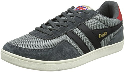Elite Black Black Sneaker Graphite Gola Herren Graphite Grau Gb qvUBxBw