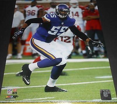 Anthony Barr Minnesota Vikings 8x10 Picture Purple 1