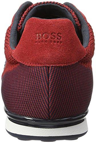 BOSS Green Arkansas_lowp_syjq 10195466 01, Zapatillas para Hombre Rojo (Dark Red 601)