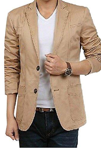 HKJIEVSHOP Men's Leisure Suit Slim Suits Tide Male Coat