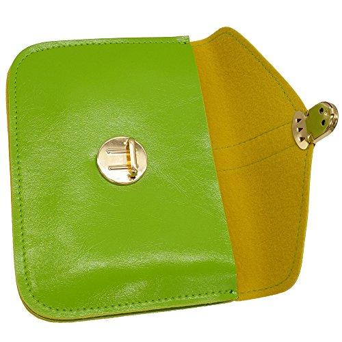 Retro Bags Girl Fresh Mini Body Messenger Design Green Women Ladies Handbag Cross Bags nx6wR
