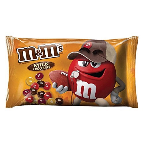 M&M'S Milk Chocolate Halloween Candy Pieces 11.4-Ounce Bag (M & M Mars)