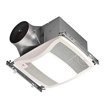 Broan-NuTone Ultra Multi-Speed Humidity Sensing Bathroom Fan with Light (ZN110HL)