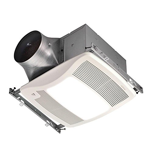 Broan-NuTone ZN110HL Ultra Series 110 CFM Energy Star Bathroom Fan with Light and Humidity Sensing Review