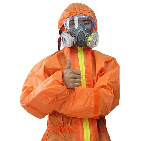XXHDYR Ropa de Trabajo, Ropa de protección química, Pintura ...