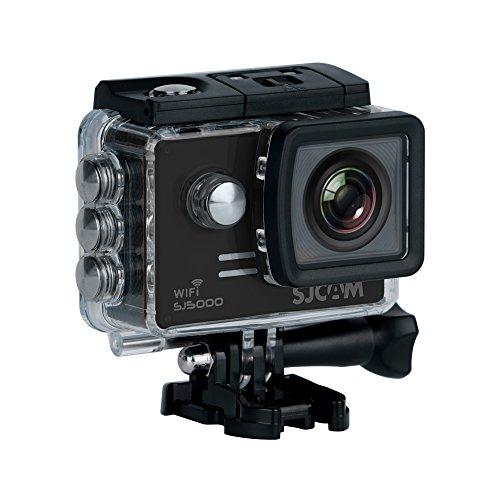 Sjcam SJ5000 WiFi Novatek 96655 14MP FHD 1080p Sport Action Waterproof Camera - Black