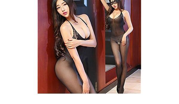 wenrou Kaidang Volver Vestido de Encaje Lenceria Ropa Interior Calcetines Adulto,Negro [sin Parches],F: Amazon.es: Deportes y aire libre