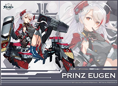 Azur Lane Prinz Eugen Card Game Character Play Mat Collection Anime Girls Art by Broccoli