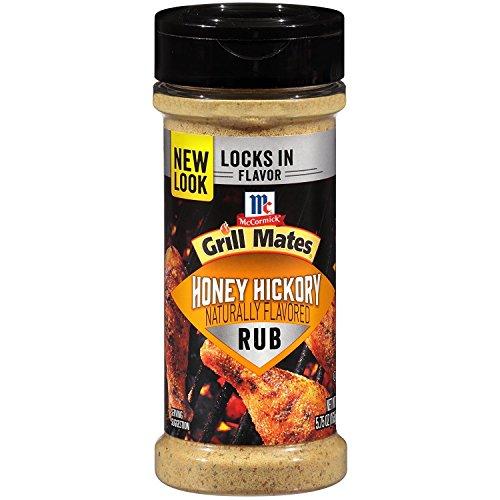 - McCormick Grill Mates Honey Hickory Dry Rub, 5.75 OZ