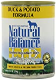 Natural Balance Duck and Potato Formula Dog Food (Pack of 12 13-Ounce Cans), My Pet Supplies