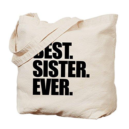 CafePress Unique Design best Sister Ever Tote Bag - Standard Multi-color by CafePress