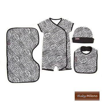 Amazon.com: 4 piezas ropa de bebé Set de regalo en estampado ...