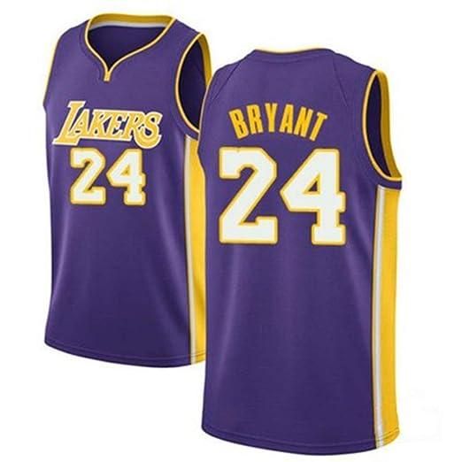 AKCHIUY Camiseta De Baloncesto Kobe Bryant # 24 para Hombre - NBA ...