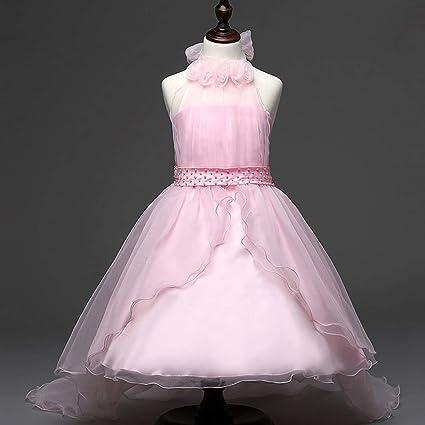 GHTWJJ Vestidos De Noche De Las Niñas Vestido De Princesa De La Boda del Vestido De