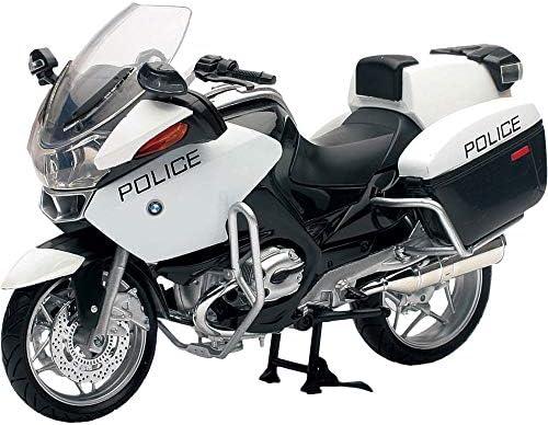 NewRay 1/12 スケールモデル BMW R1200 RT-P US Police ホワイト [並行輸入品]