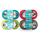 Messy Mutts Silicone Double Dog Feeder