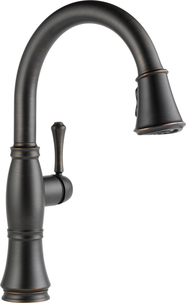 Delta Faucet 9197 RB DST Cassidy, Single Handle Pull Down Kitchen Faucet  With Magnetic Docking, Venetian Bronze   Touch On Kitchen Sink Faucets    Amazon.com