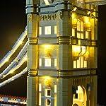 LIGHTAILING-Set-di-Luci-per-Tower-Bridge-Modello-da-Costruire-Luce-Non-Lampeggia-Kit-Luce-LED-Compatibile-con-Lego-10214-Non-Incluso-nel-Modello