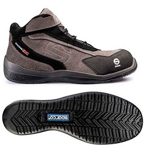 Sparco 0751543GRNR Zapatillas Gris//Negro 43