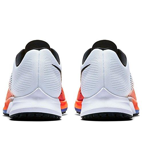 Nike Mens Luft Zoom Elit 9 Löparsko Hyper Orange / Svart-vit-medelblått