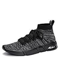 Unisex Slip-on Running Casual Sport Shoes Lightweight Breathable Fashion Sneakers Walking Shoes for Men Women