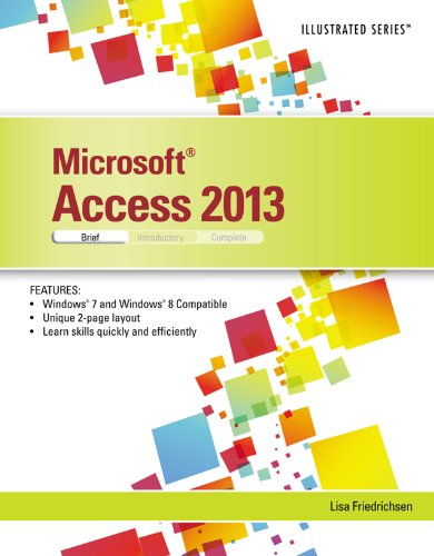 Microsoft Access 2013: Illustrated Brief Pdf