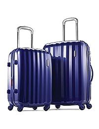 Samsonite Prism Hardside (20 Inch/24 Inch) Luggage Set, Blue
