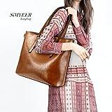 SiMYEER-Women-Top-Handle-Satchel-Handbags-Shoulder-Bag-Top-Purse-Messenger-Tote-Bag