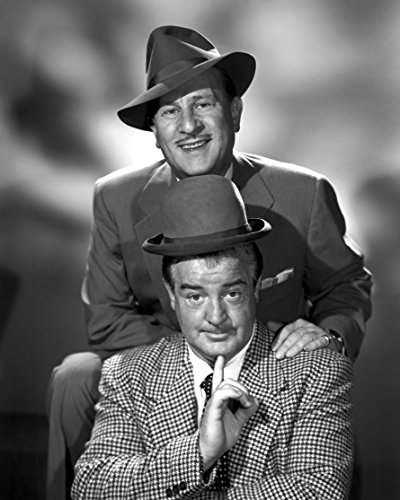 Bud Abbott & Lou Costello / Glossy 8 x 10 / 8x10 Photo Picture