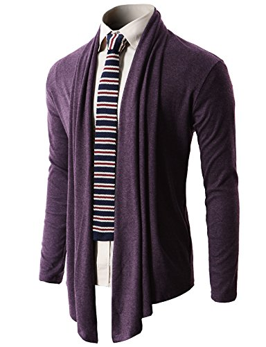 H2H Casual Open Front Lightweight Cardigan