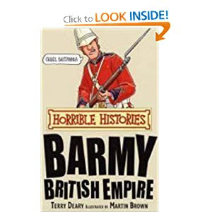 Barmy British Empire (Horrible Science) Terry Deary